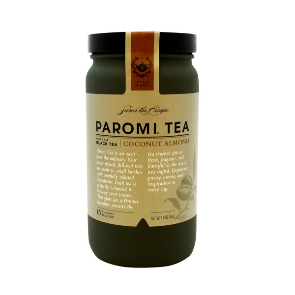 Paromi Tea Black Tea Coconut Almond