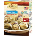 Sea Best Clams Retail Box Vp Steamed