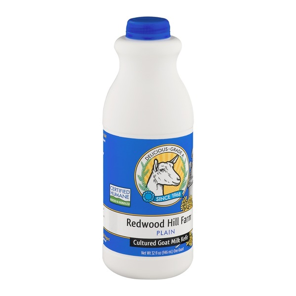 Redwood Hill Farm Cultured Goat Milk Kefir Plain