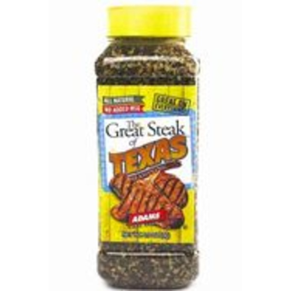 Adams The Great Steak Of Texas Seasoning