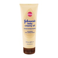 Johnson & Johnson Baby Creamy Oil Cocoa & Shea Butter