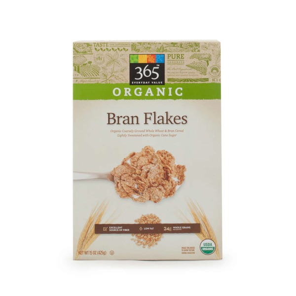 365 Organic Bran Flakes Cereal