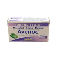 Boiron Hemorrhoid Relief Avenoc Suppositories