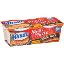 Minute® Ready to Serve Fried Rice Mix with Peas Carrots & Onions 8.8 oz. Pack