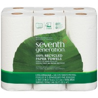 Seventh Generation 2-Ply Right Size 100% Recycled Paper Towels