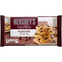 HERSHEY'S Sugar Free Chocolate Chips, 8 Ounces