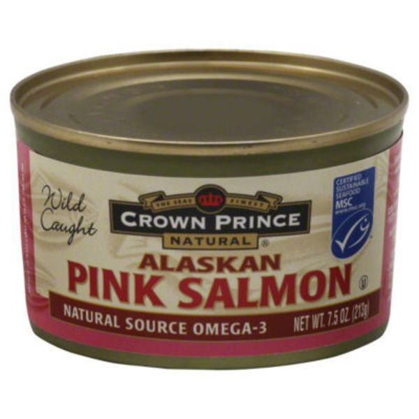 Crown Prince Natural Pink Salmon