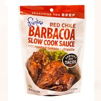 Frontera Red Chile Barbacoa Slow Cook Sauce With Roasted Tomato + Chipotle Mild