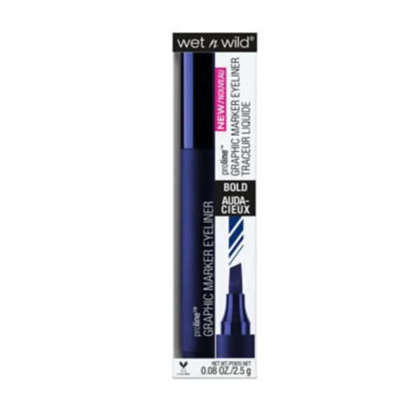 Wet n' Wild Proline Graphic Marker Eyeliner Bold 878 Airliner Blue