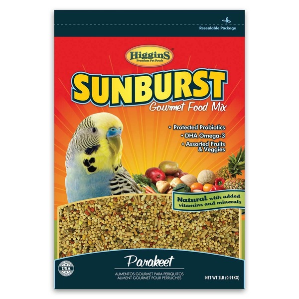 Higgins Sunburst Gourmet Food Mix For Parakeet