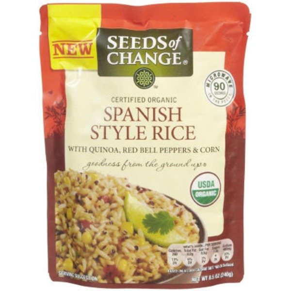 Seeds of Change Organic Spanish Style Rice