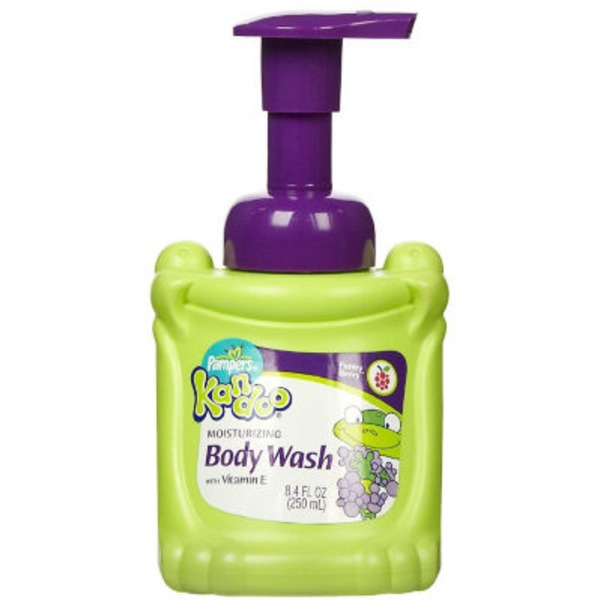 Kandoo Body Wash, Moisturizing, Foam, Funny Berry