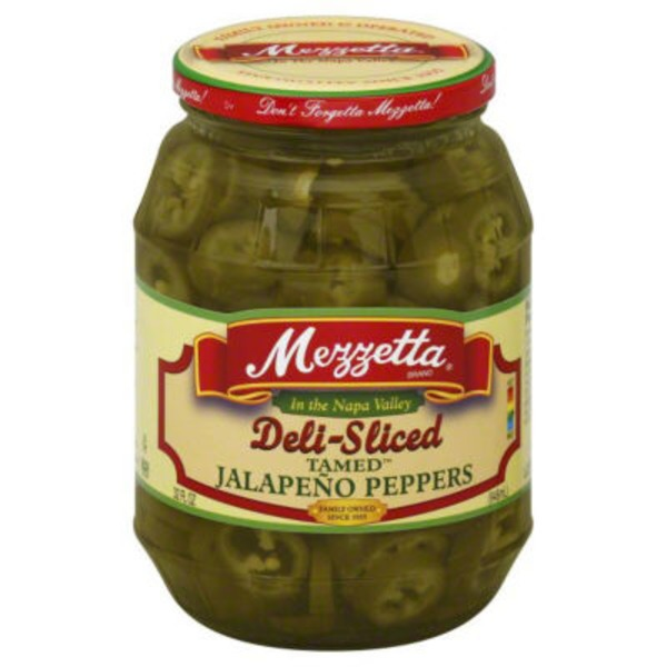 Mezzetta Deli-Sliced Tamed Jalapeno Peppers