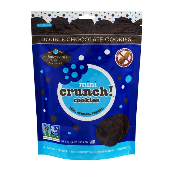 Fancy Pants Baking Co. Mini Crunch! Cookies Double Chocolate
