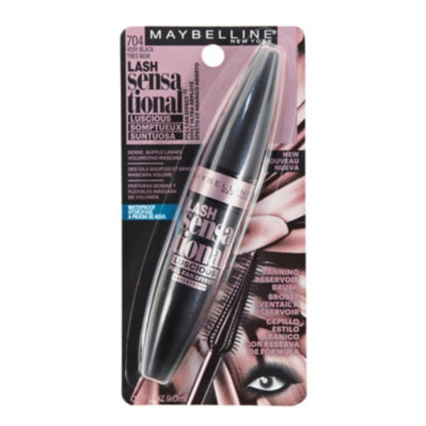 Lash Sensational™ 704 Very Black Luscious Waterproof Mascara
