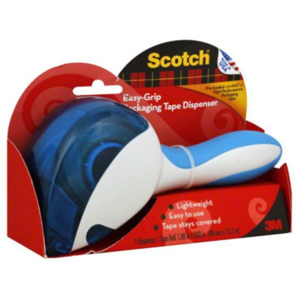 Scotch Easy-Grip Packaging Tape Dispenser