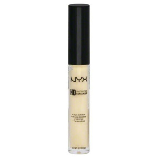 Nyx Hd Photogenic Yellow Cw10 Concealer