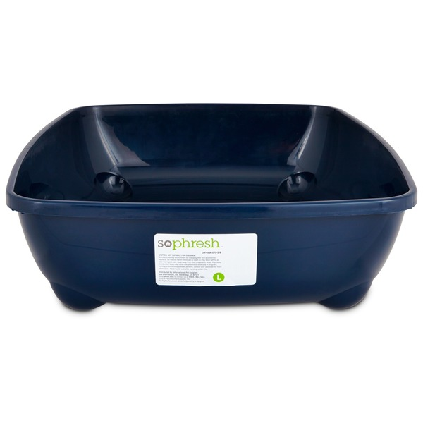 So Phresh Blue Large Open Litter Box