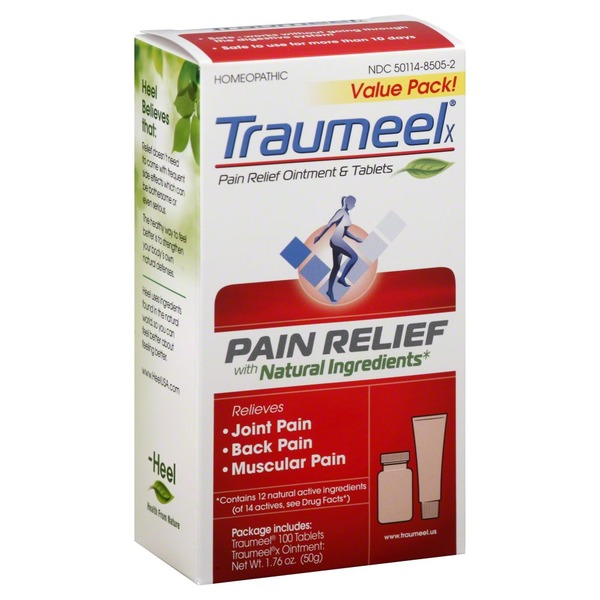Traumeel Pain Relief Ointment & 100 Tablets