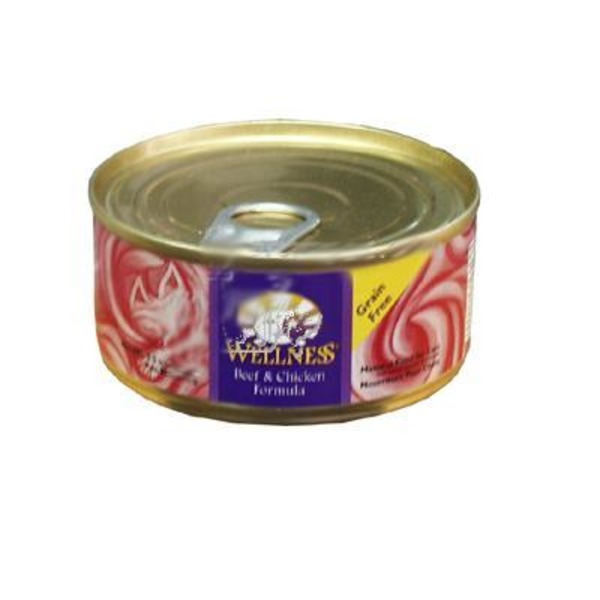 Wellness Beef & Chicken Cat Food