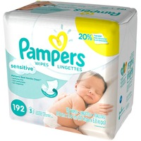 Pampers Sensitive Pampers Baby Wipes Sensitive 3X Refill 192 count Baby Wipes