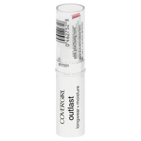 CoverGirl Outlast COVERGIRL Outlast Longwear Lipstick Pink Pow .12 oz (3.4 g) Female Cosmetics