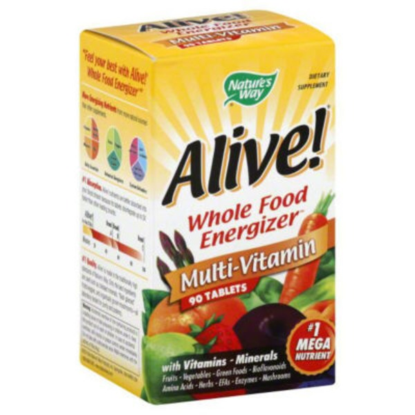 Nature's Way Multi-Vitamin Tablets