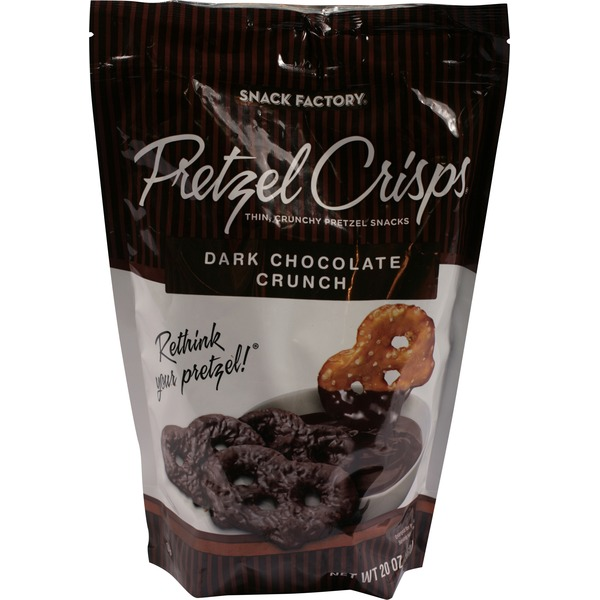 Snack Factory Dark Chocolate Crunch Pretzel Crisps