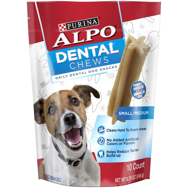 Alpo Treats Dental Chews Small/Medium Dog Treats