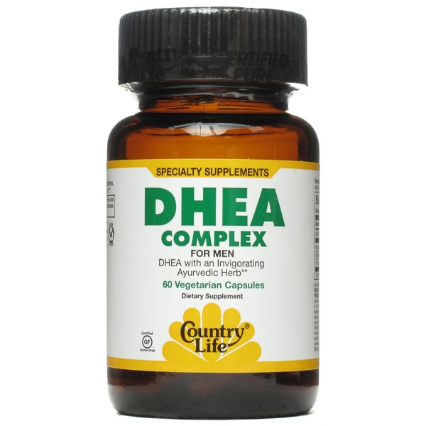 Country Life DHEA Complex For Men Vegan Capsules
