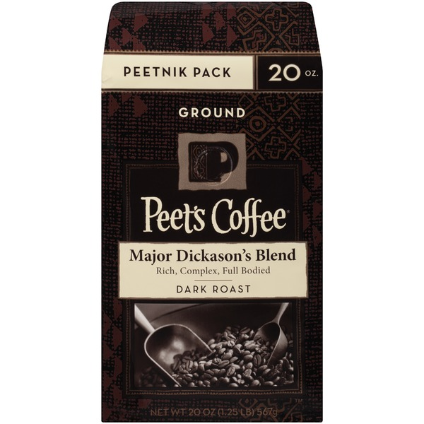 Peet's Coffee & Tea Major Dickason's Blend Dark Roast Ground Coffee