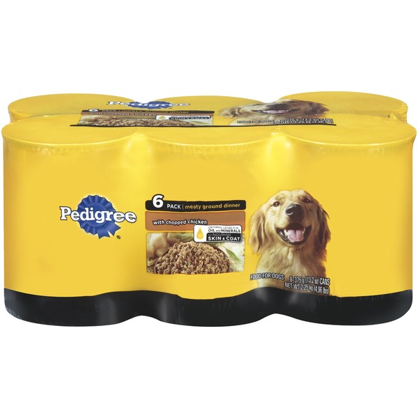 Pedigree W/Chopped Chicken 13.2 Oz Wet Dog Food