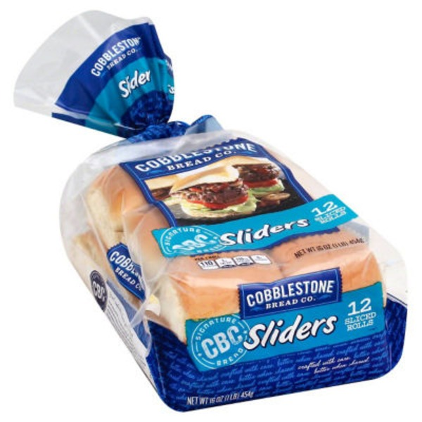 Cobblestone Mill Sliders Rolls