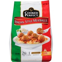 Cooked Perfect   Us Italian Style Meatballs