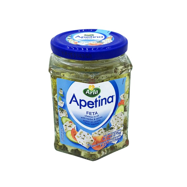Apetina Feta Cheese with Herbs & Spices in Oil