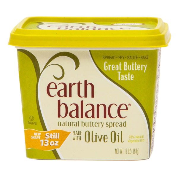 Earth Balance Made with Olive Oil Buttery Spread