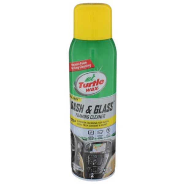 Turtle Wax Quick & Easy Foaming Cleaner, Dash & Glass