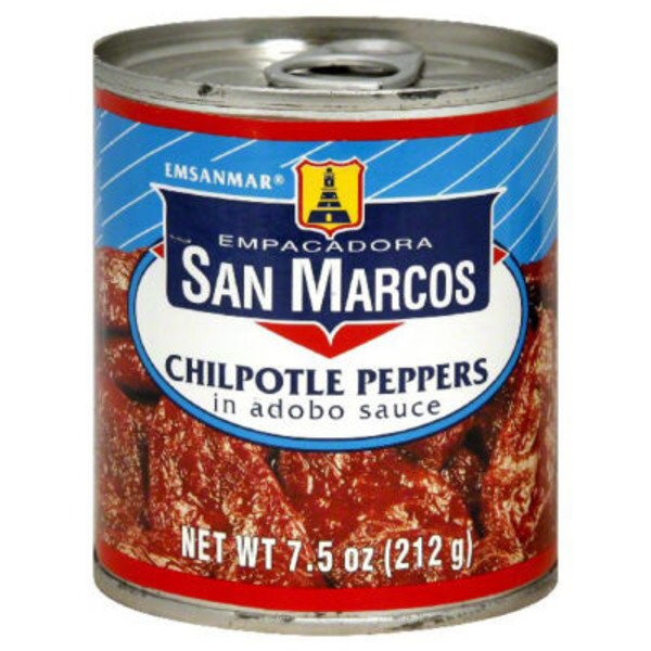 San Marcos Chilpotle Peppers in Adobo Sauce