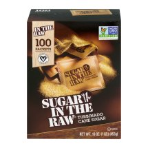 Sugar in the Raw Turbinado Cane Sugar Packets - 100 CT