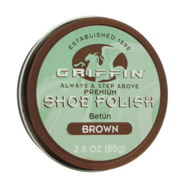 Griffin Shoe Polish Paste Wax Brown