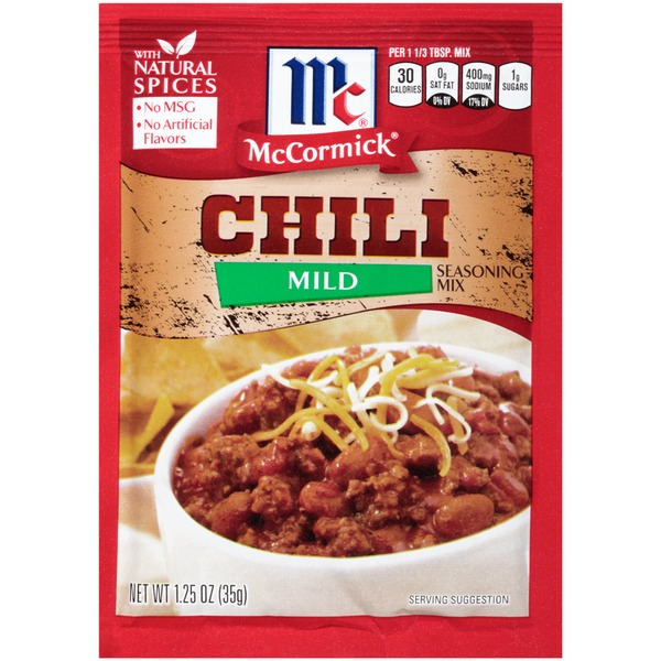 McCormick Chili Mild Seasoning Mix