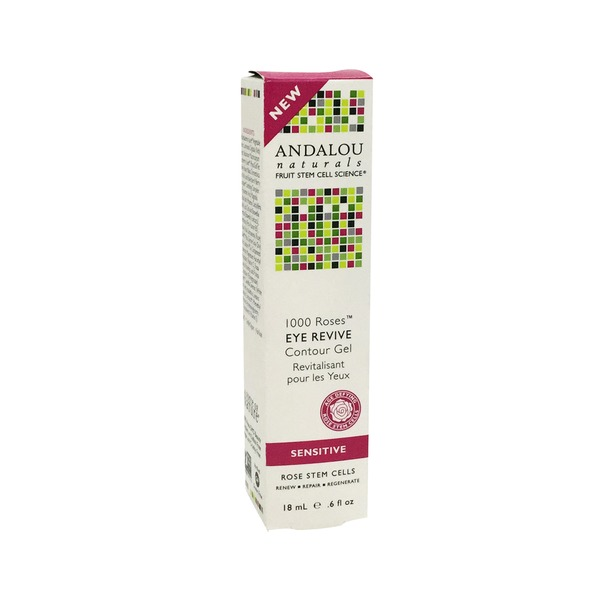 Andalou Naturals Eye Revive Contour Gel Sensitive