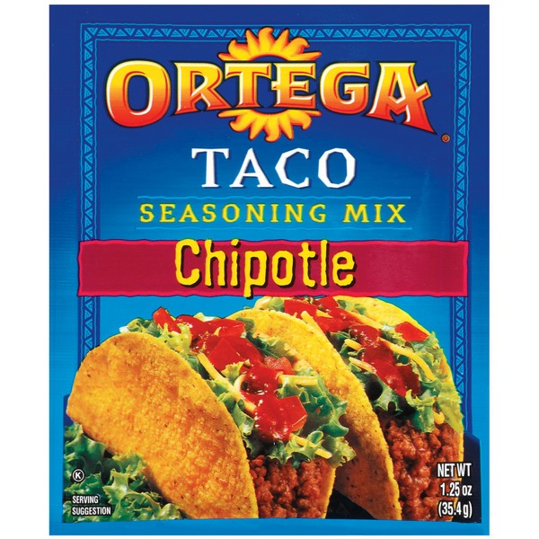 Ortega Taco Chipotle Seasoning Mix