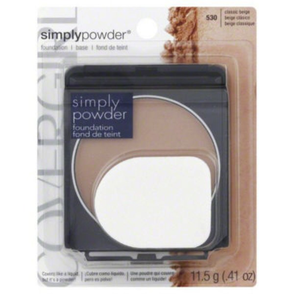 CoverGirl Clean Powder Foundation COVERGIRL Clean Powder Foundation Classic Beige .41 oz. Female Cosmetics