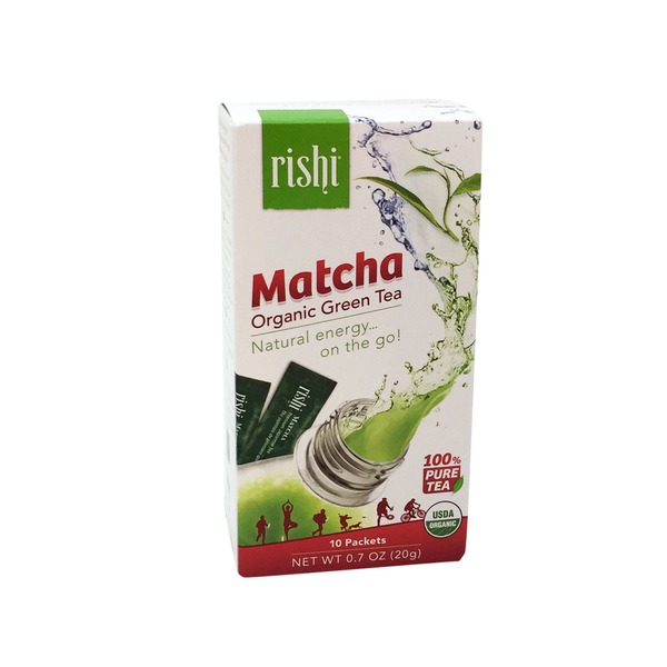 Rishi Tea Matcha Japanese Green Tea Powder