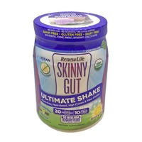 Renew Life Skinny Gut Ultimate Shake Vanilla Canister