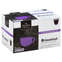 Signature SELECT Coffee Pods Cappuccino Hazelnut