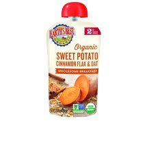 Earth's Best Organic Sweet Potato Cinnamon Flax & Oat 6+ Months, 4.0 OZ