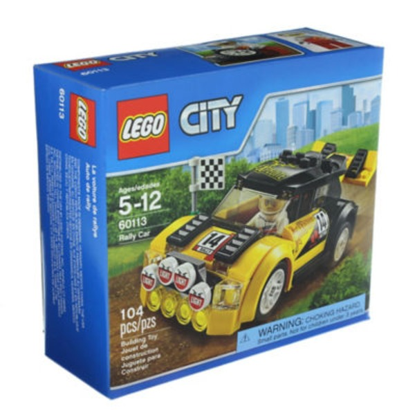 Lego City Great Vehicles Rally Car