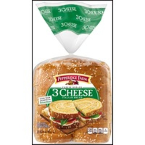 Pepperidge Farm Fresh Bakery 3 Cheese Italian Bread